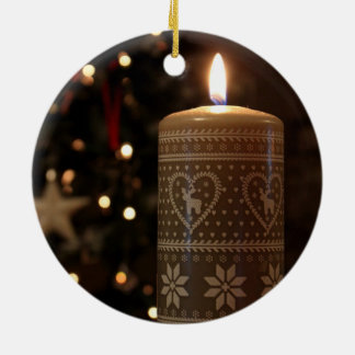 Candle christmas tree decorations baubles for 7 candle christmas decoration