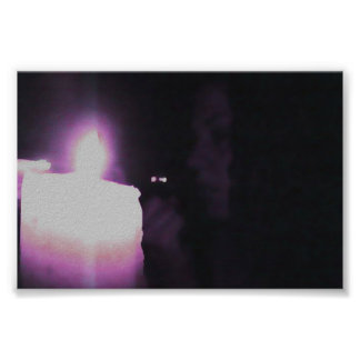 CANDLE DARK ROOM POSTER