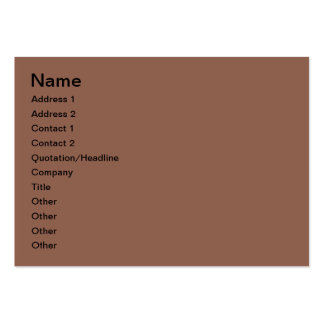 Candle decoration business card templates