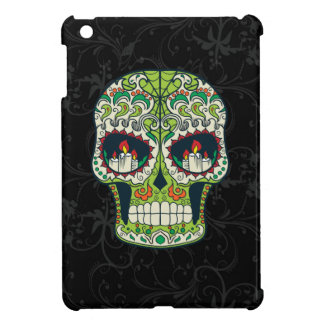 Candle Eyes Tattoo Mexican Sugar Skull iPad Mini Covers