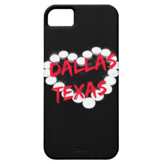 Candle Heart Design For Dallas, Texas Barely There iPhone 5 Case
