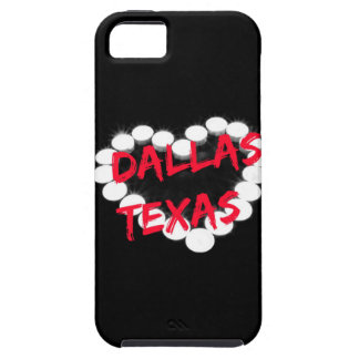 Candle Heart Design For Dallas, Texas iPhone 5 Cover