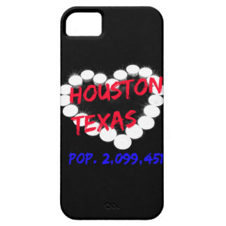 Candle Heart Design For Houston, Texas Barely There iPhone 5 Case