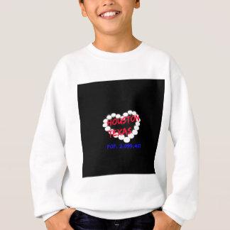 Candle Heart Design For Houston, Texas Sweatshirt