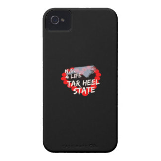 Candle Heart Design For North Carolina State iPhone 4 Case-Mate Case