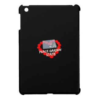Candle Heart Design For North Dakota State Cover For The iPad Mini