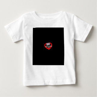 Candle Heart Design For South Dakota State Baby T-Shirt
