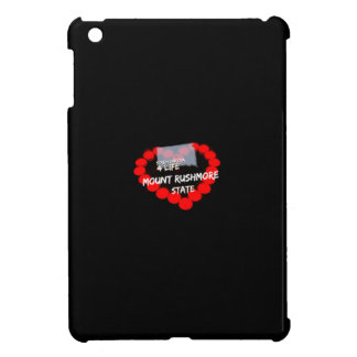 Candle Heart Design For South Dakota State iPad Mini Covers
