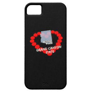 Candle Heart Design For The State of Arizona iPhone 5 Case