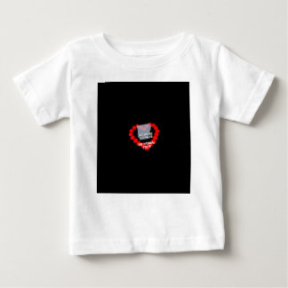 Candle Heart Design For The State of Arkansas Baby T-Shirt