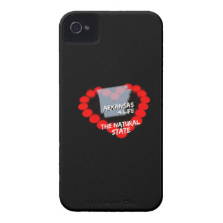 Candle Heart Design For The State of Arkansas Case-Mate iPhone 4 Cases