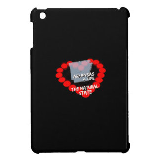 Candle Heart Design For The State of Arkansas iPad Mini Case