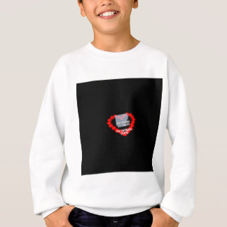Candle Heart Design For The State of Arkansas Sweatshirt