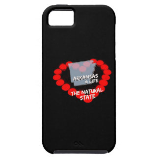 Candle Heart Design For The State of Arkansas Tough iPhone 5 Case
