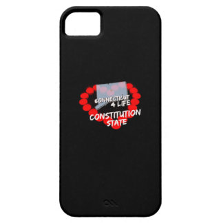 Candle Heart Design For The State of Connecticut iPhone 5 Case