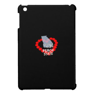 Candle Heart Design For The State of Georgia Case For The iPad Mini