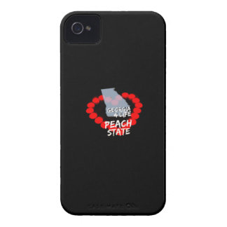 Candle Heart Design For The State of Georgia iPhone 4 Cases