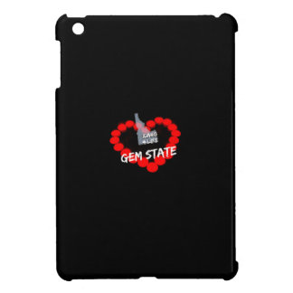 Candle Heart Design For The State of Idaho iPad Mini Covers