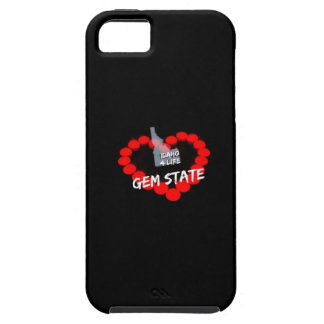 Candle Heart Design For The State of Idaho Tough iPhone 5 Case