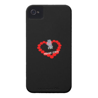 Candle Heart Design For The State of Illinois Case-Mate iPhone 4 Cases