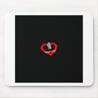 Candle Heart Design For The State of Illinois Mouse Pad
