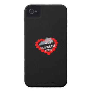 Candle Heart Design For The State of Kentucky iPhone 4 Cases