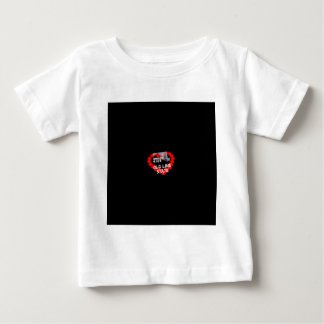 Candle Heart Design For The State of Maryland Baby T-Shirt