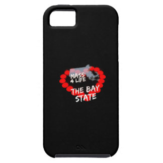 Candle Heart Design For The State of Massachusetts Case For The iPhone 5