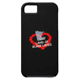Candle Heart Design For The State of Minnesota iPhone 5 Cover