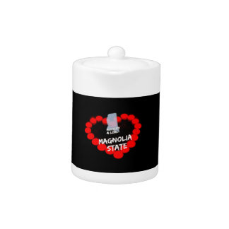 Candle Heart Design For The State of Mississippi