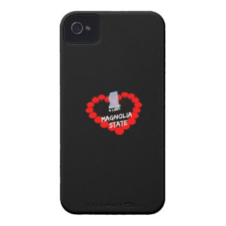 Candle Heart Design For The State of Mississippi iPhone 4 Case-Mate Cases