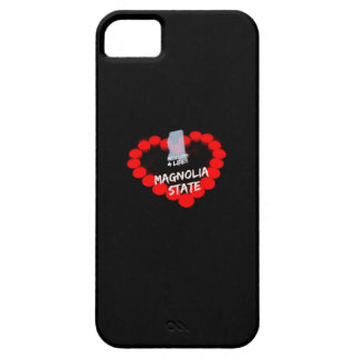 Candle Heart Design For The State of Mississippi iPhone 5 Cases