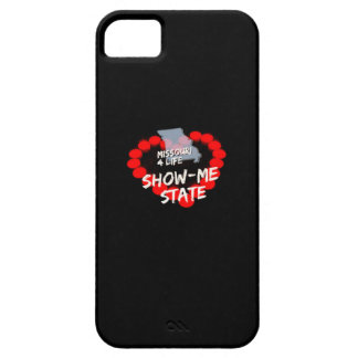 Candle Heart Design For The State of Missouri Barely There iPhone 5 Case