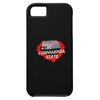 Candle Heart Design For The State of Nebraska iPhone 5 Cases