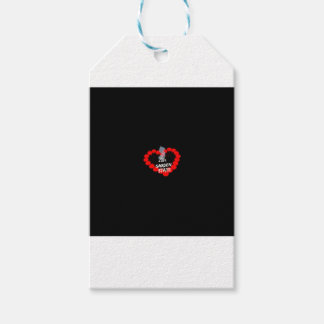 Candle Heart Design For The State of New Jersey Gift Tags