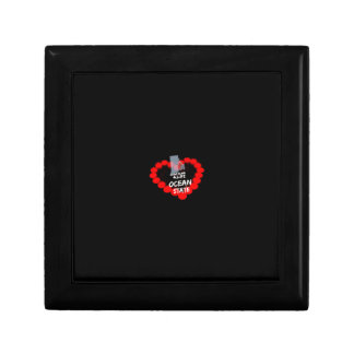 Candle Heart Design For The State of Rhode Island Gift Box