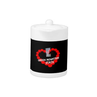 Candle Heart Design For The State of Vermont