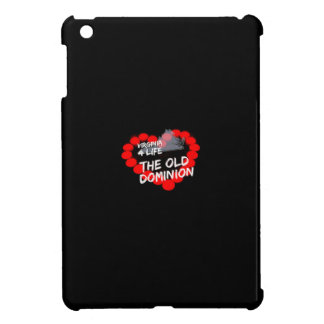 Candle Heart Design For The State of Virginia iPad Mini Cover