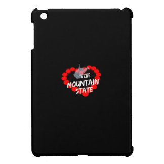 Candle Heart Design For West Virginia State iPad Mini Cases