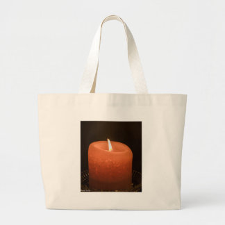 Candle Large Tote Bag