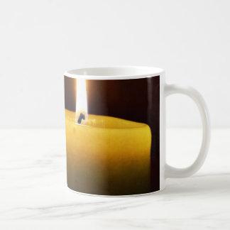 Candle Coffee Mug