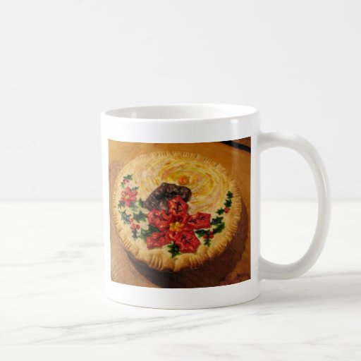 Candle Pie Coffee Mugs
