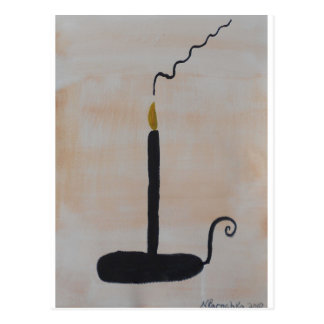 Candle Postcard