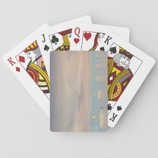 Candle steps - 3D render Playing Cards