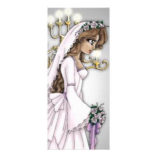 Candlelight Bride Invitation 1