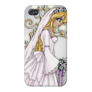 Candlelight Bride iPhone Case 3 iPhone 4 Cover