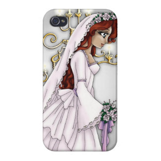 Candlelight Bride iPhone Case 4 iPhone 4/4S Cases