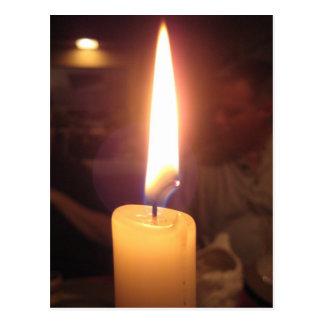 Candlelight Dinner Postcard