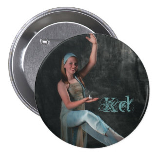 Candlelight Photo of Dancer 7.5 Cm Round Badge