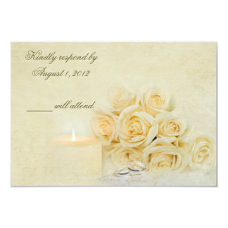 Candlelight RSVP Card